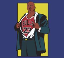 Michael Jordan is Superman by D4RK0
