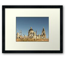 Three Graces in the Morning Light, Liverpool Waterfront Framed Print