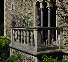 The Balcony, Iford Manor Gardens by wiggyofipswich