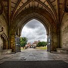 Christchurch From The Priory by hebrideslight