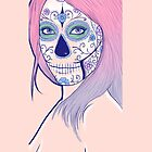 Candy Skull 2 by Rosie C