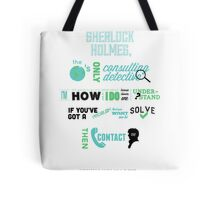 Sherlock Holmes - Consulting Detective Tote Bag