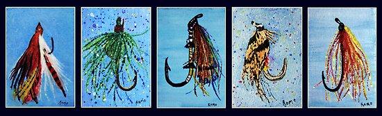 Fishing Lures by Robin Monroe