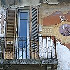 Old window in Figline Valdarno - Firenze by gluca