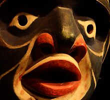 Haida Mask 3 by Bob Christopher