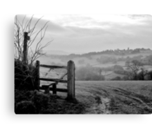Over the fields........ Canvas Print