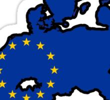 United States of Europe Sticker
