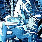 Moonlight Trio by Jean Gregory  Evans
