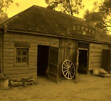 Livery in Wilberforce in Sepia by Michael Matthews