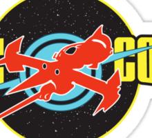 Space Cowboy Sticker