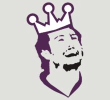 Doughty Face TeeShirt - purple screen by kalitarios