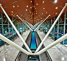 Alone at KLIA by Antonio Zarli