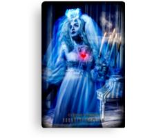 Ghost Bride, Haunted Mansion Series by Topher Adam The Dark Noveler Canvas Print