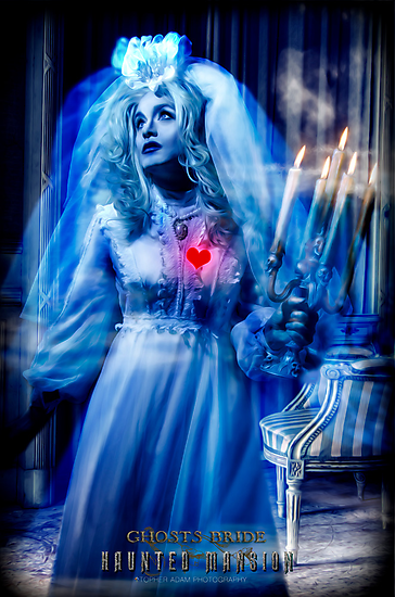 Ghost Bride, Haunted Mansion Series by Topher Adam The Dark Noveler by TopherAdam
