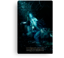 The Hitchhiking Ghosts, Haunted Mansion Series by Topher Adam The Dark Noveler Canvas Print