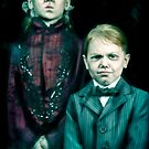 The Twins, Haunted Mansion Series by Topher Adam The Dark Noveler by Hugs &amp; Bitchslaps SX Couture