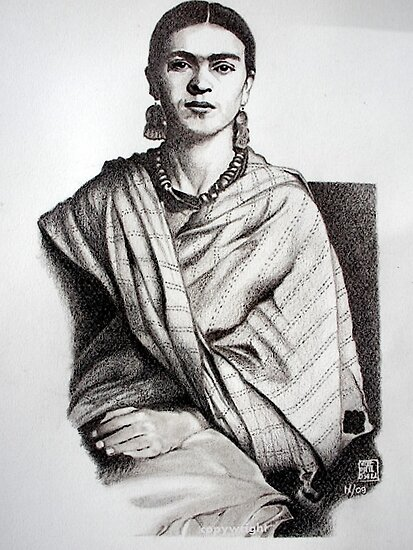 Frida Khalo by Michele Filoscia