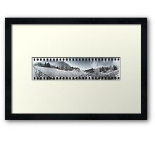 Going or Coming... Framed Print