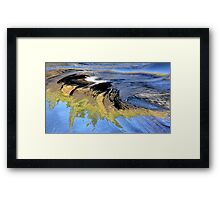 Pathway to Atlantis Framed Print