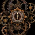 Steampunk Clock #2 by Steve Crompton