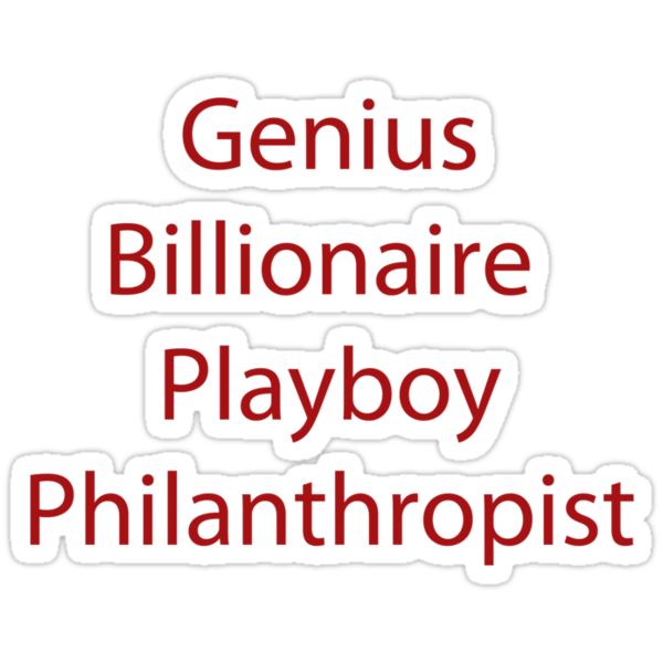Genius Billionaire  Playboy Philanthropist by GeorgioGe