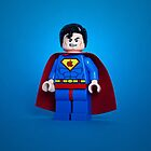 Apple Lego Superman iPhone Case by designholic