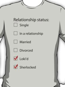 LOKI'd and Sherlocked T-Shirt