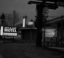 Hav A Nap (b & w) by Gary Chapple
