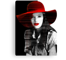 *The Red Hat* Canvas Print