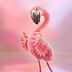Flamingo iPhone case by murals2go