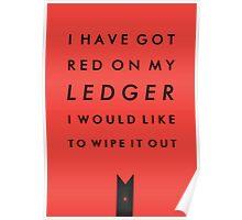 TYPOGRAPHIC POSTER - Black Widow Poster