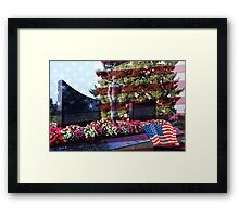 The Lone Soldier  Framed Print