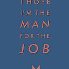 TYPOGRAPHIC POSTER - Captain America by beauvoire
