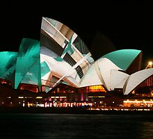 Vivid Opera House 2012 by Michael Matthews