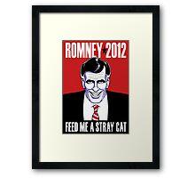 Mitt Romney: American Psycho Framed Print