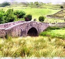 Beautiful Britain - A Bridge in the Yorkshire Dales by Dennis Melling