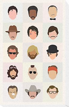 70s Movie Dudes by mitchfrey