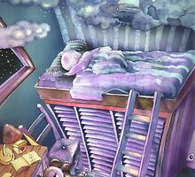 A bed in the sky by lillo