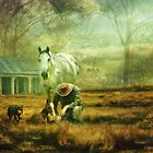 The Stock Horse by Trudi's Images