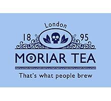 MoriarTea 2 Blue Ed. Photographic Print