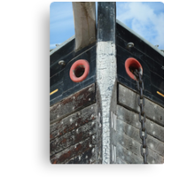 The Prow of a Trow Canvas Print