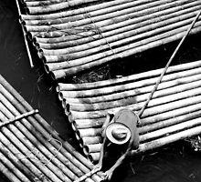 Boatman Mono, Yangshuo, China by strangelight