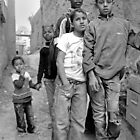 Kids in Tinerhir Morocco by Debbie Pinard