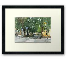 Gorky street Framed Print