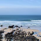 Sweet Fistral Wave. by Rob Booth