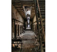 Corridor of Incarcerate Decay Photographic Print