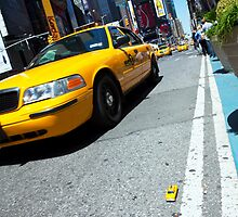 Minature New York Taxi by Paul Thompson Photography