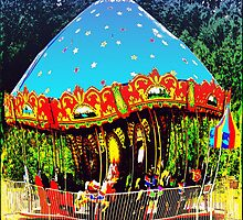 Merry-Go-Round Motion And Rhythm by Jean Gregory  Evans