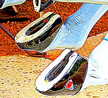 Horsey Shoes 4 Good LUCK ! by Jean Gregory  Evans
