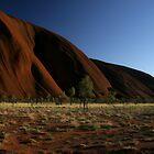 Sunrise at Ayers Rock (Uluru) - Central Australia by Kim Andelkovic